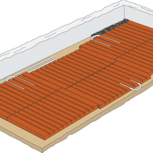 Fußbodenheizung Auf Holzbalkendecke ökologische fußbodenheizung lithotherm