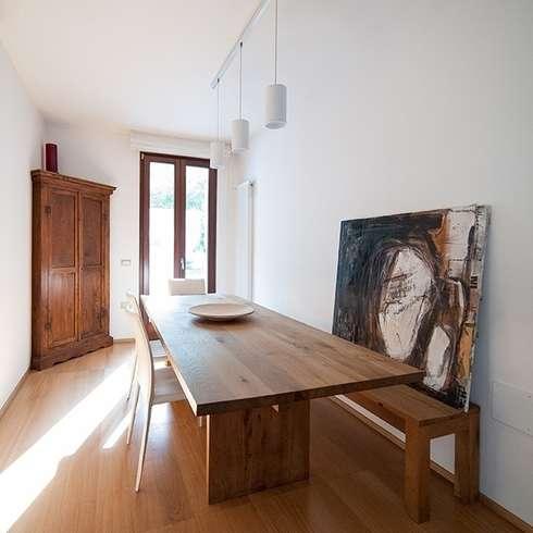 casa  AS: Sala da pranzo in stile in stile Moderno di bbprogetto