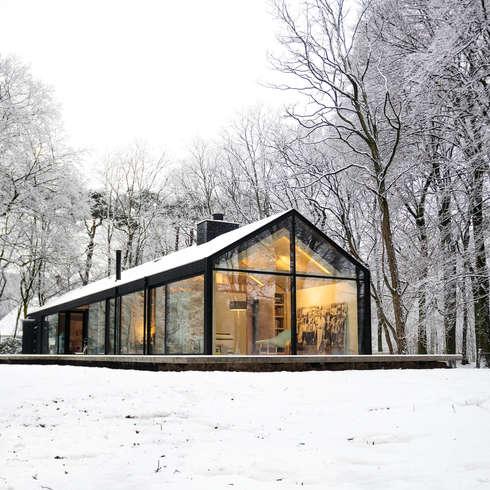 Brouwhuis: scandinavische Huizen door Bedaux de Brouwer Architecten