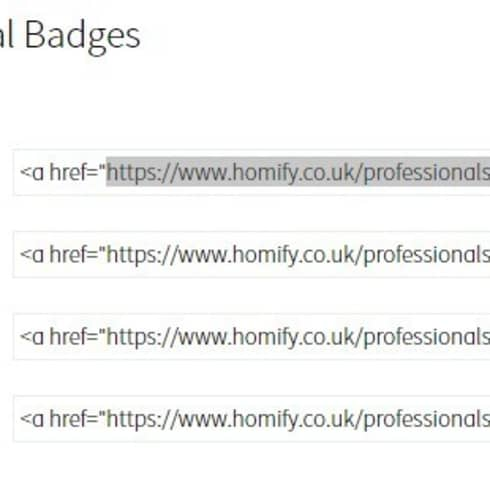 How do I integrate badges and widgets?:   by homify UK