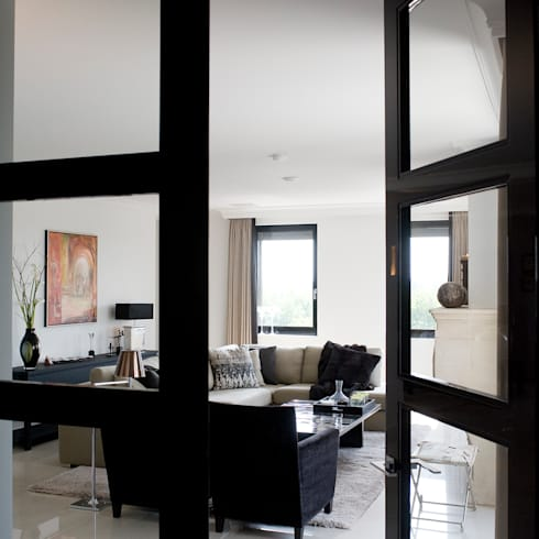 Franse dubbele deuren voor het hele huis
