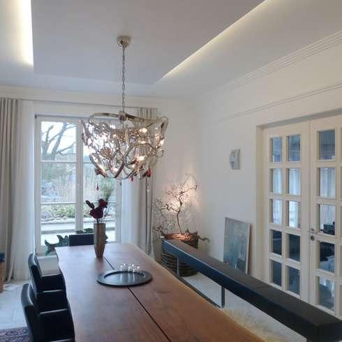 Neues Esszimmer In Villa Saarland: Klassische Esszimmer Von Bolz Planungen  Für Licht Und Raum