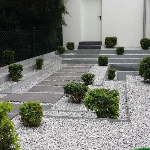 C mo tener un camino en tu jard n moderno y con mucho estilo Como tener un lindo jardin