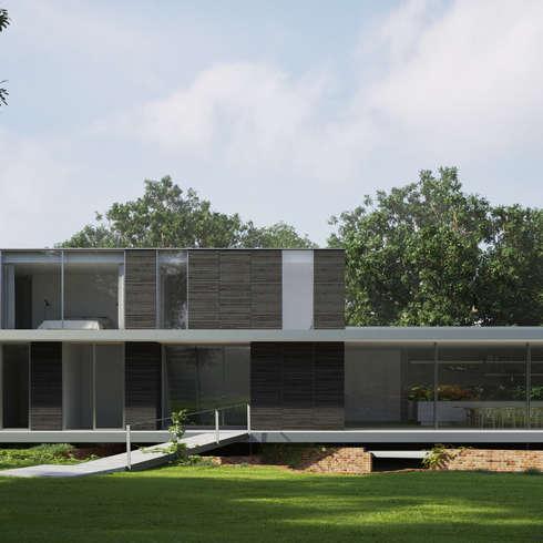 mediterrane Häuser von Strom Architects