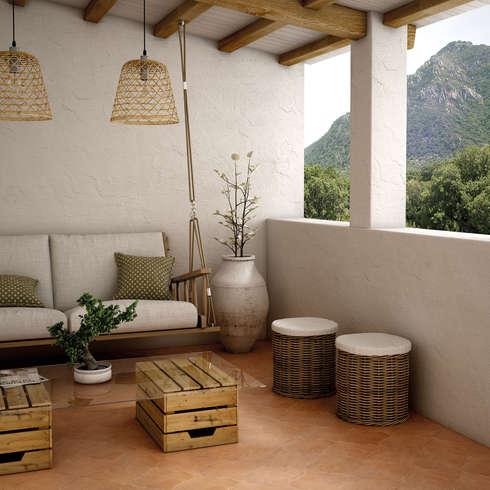 paredes y pisos de estilo por homify - Sillones Colgantes