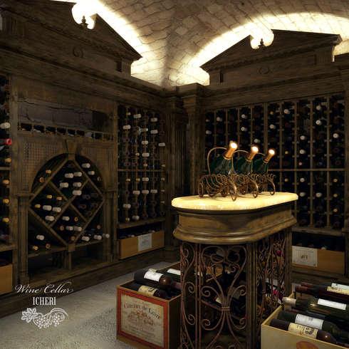 Middeleeuwse decoratie - Wijnkelder decoratie ...