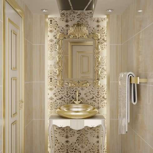 Antieke spiegels for Spiegel voor in de wc
