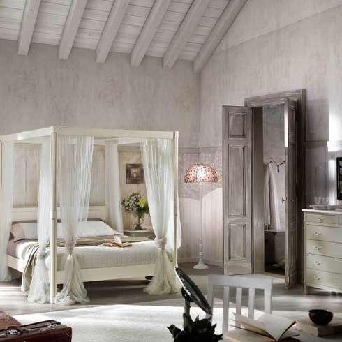 10 ambienti della casa visti in stile shabby chic - Camera da letto stile provenzale ...