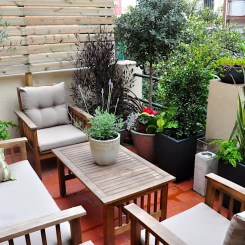 terrasse und balkon gestalten. Black Bedroom Furniture Sets. Home Design Ideas