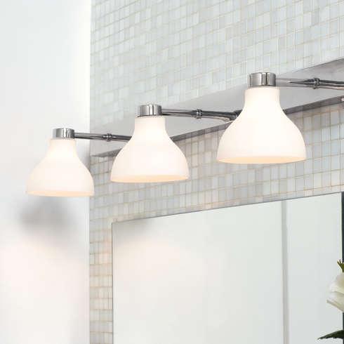 La luce per lo specchio da bagno migliore per truccarsi - Andare sempre in bagno ...