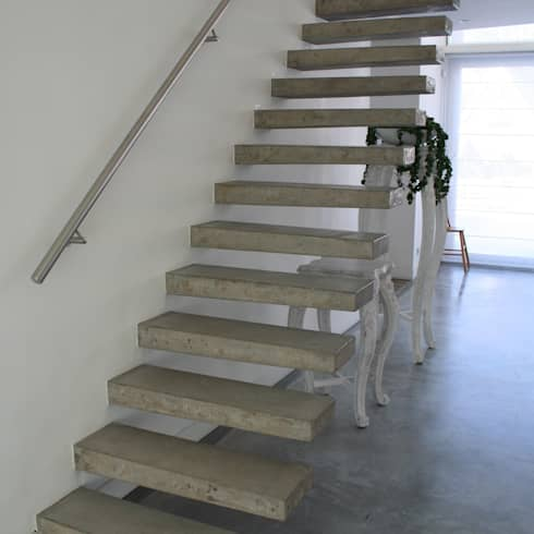 Trappenhuizen van beton - Ontwerp betonnen trap ...