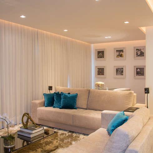 Moderne Wohnzimmer Von Bibiana Menegaz   Arquitetura De Atmosfera