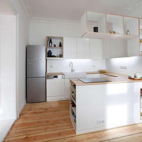 Moderne küche von dominik sosna designarbeit berlin