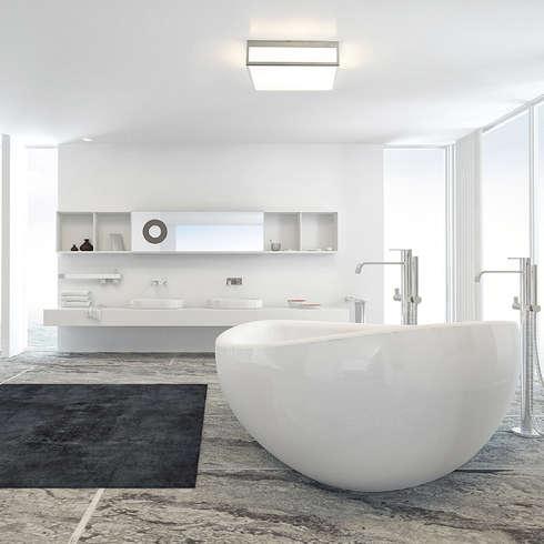 Luci bagno una scelta di stile - Luci in bagno ...
