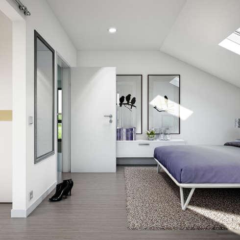 Hausimpressionen Bien Zenker Musterhaus Celebration Pfullingen:  Minimalistische Schlafzimmer Von Bien
