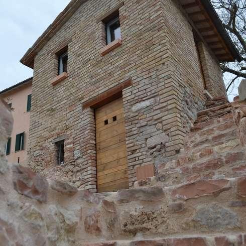Mattoni faccia a vista dentro e fuori casa for Costo di costruzione casa di mattoni