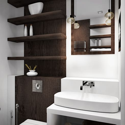 Inspiratie: rekken en planken in je badkamer