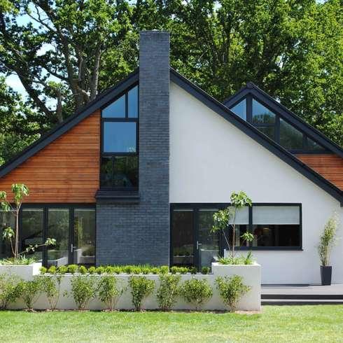 moderne Häuser von LA Hally Architect