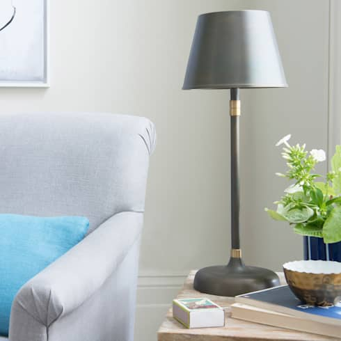 Balthazar lamp : modern Living room by Loaf