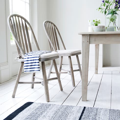 Bossy kitchen chairs and Homer table : country Kitchen by Loaf