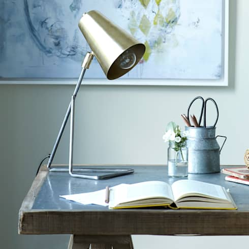 Little Gee desk lamp :  Office spaces & stores  by Loaf