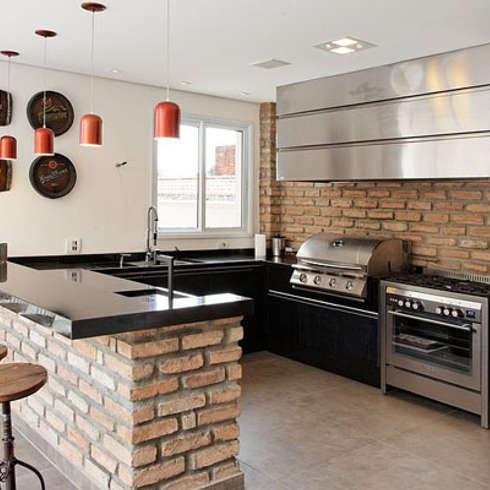 Cocinas de ladrillo 6 ideas fabulosas Cocinas de ladrillo