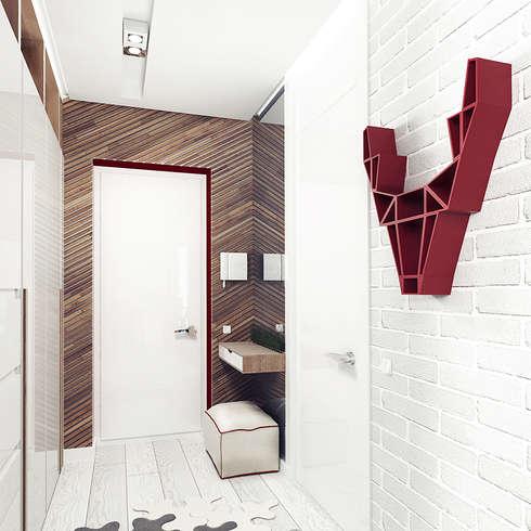 Flur & Diele von IK-architects