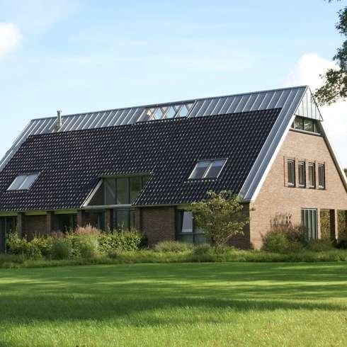 woning Zeegse: landelijke Huizen door architektengroep roderveld