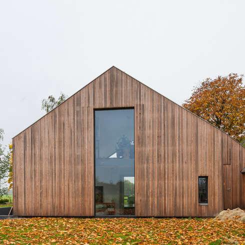 Woonhuis Laren: moderne Huizen door Maas Architecten