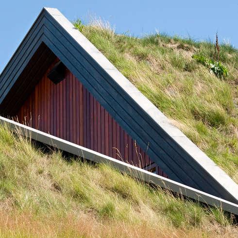 Detail: landelijke Huizen door stripesarchitects
