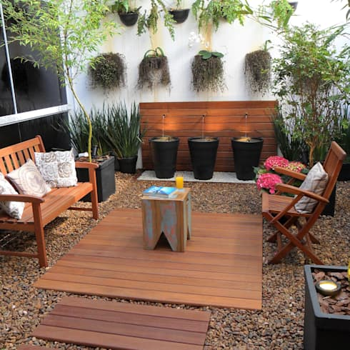 6 maravillosas ideas para decorar patios peque os for Decoracion de patios muy pequenos