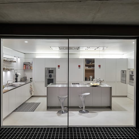مطبخ تنفيذ guedes cruz arquitectos