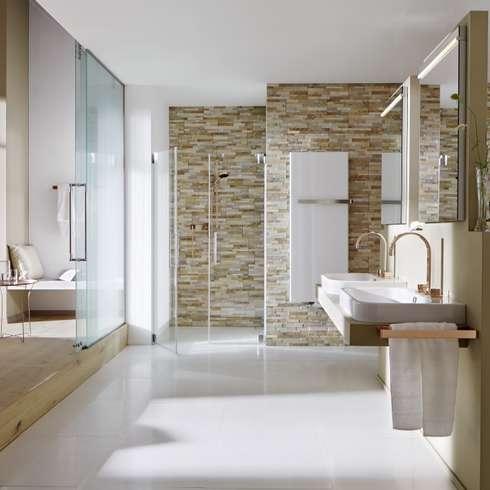 mediterranean Bathroom by Rimini Baustoffe GmbH