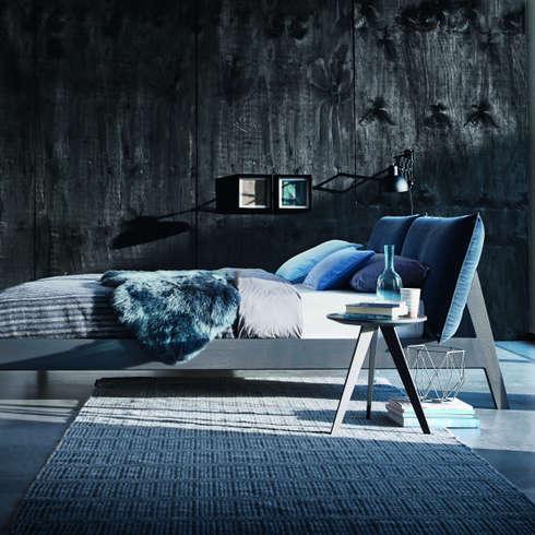 Möller Design Alva Holzbett : Moderne Schlafzimmer Von KwiK Designmöbel GmbH