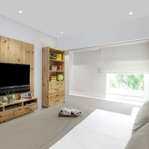Residential - Lower Parel: modern Bedroom by Nitido Interior design