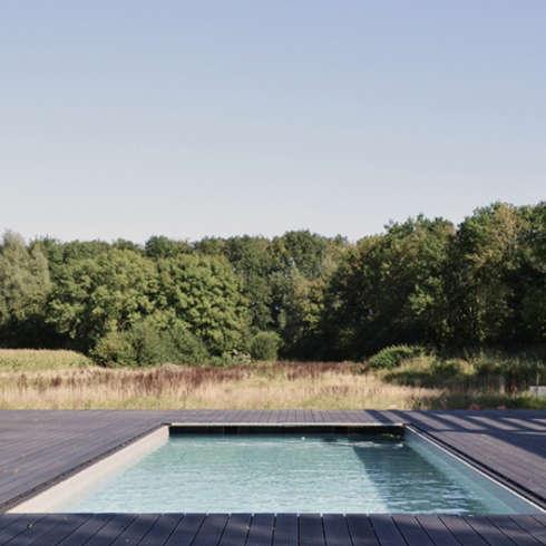 Woonhuis Dwingeloo: moderne Huizen door Koezen Architecten