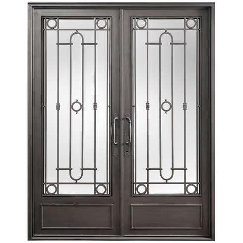 15 puertas de herrer a que te encantar n for Puertas de herreria modernas precios
