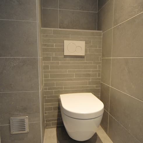 Baños de estilo moderno por AGZ badkamers en sanitair