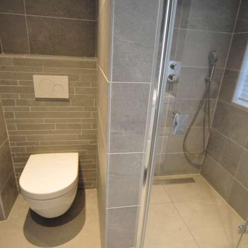 modern Bathroom by AGZ badkamers en sanitair