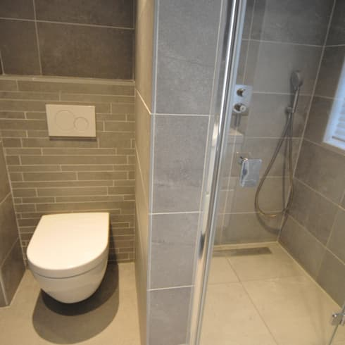 AGZ badkamers en sanitair: modern tarz Banyo