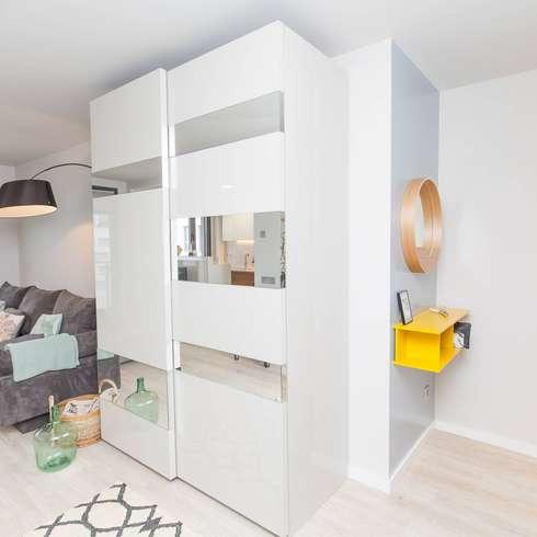 12 armarios modernos para espacios peque os - Armarios espacios pequenos ...