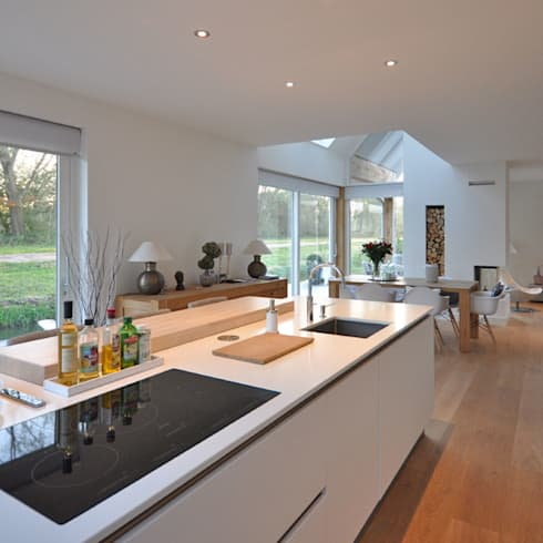 Eigentijdse woning Den-Haag: moderne Keuken door Bongers Architecten
