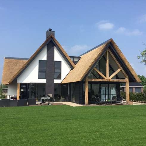 Woning Oud-Beijerland: landelijke Huizen door Bongers Architecten