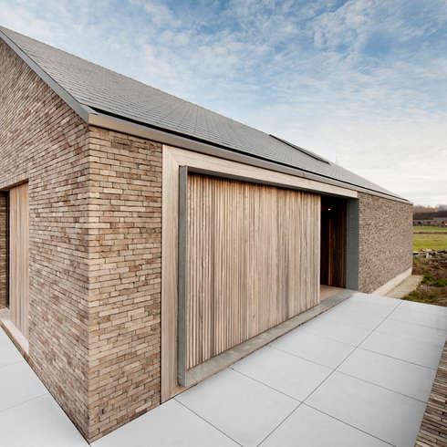 P30: moderne Huizen door das - design en architectuur studio bvba