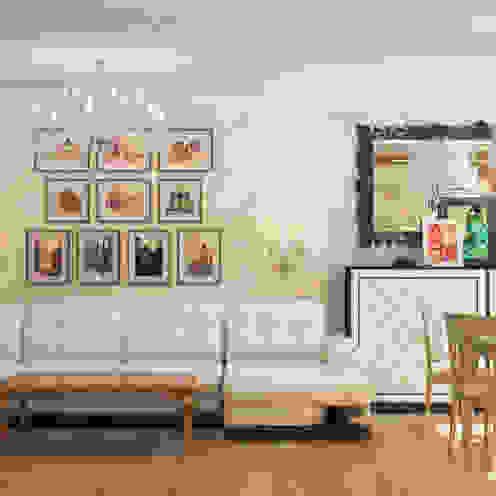 Salas de estar clássicas por Гурьянова Наталья Clássico
