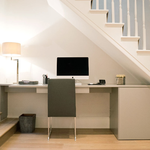 Shawfield Street Classic style study/office by Ardesia Design Classic