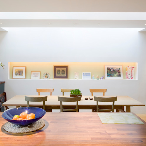 Photography in the picture Modern dining room