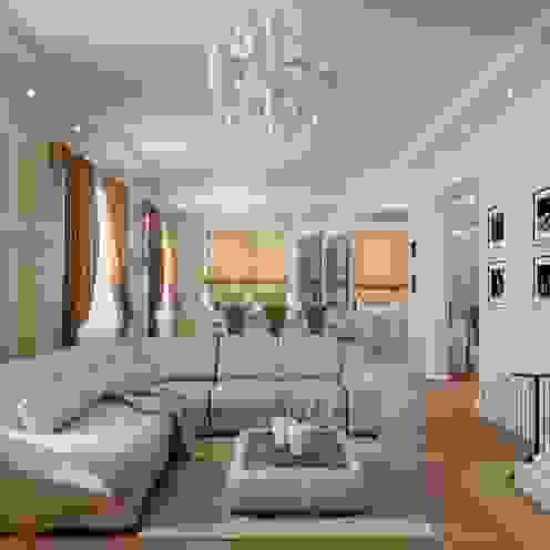 Salon classique par Студия дизайна 'New Art' Classique