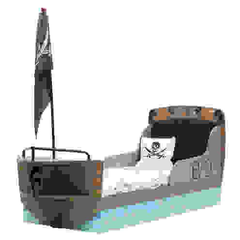 Pirate Ship Children's Bed in Captain Design van Cuckooland Koloniaal