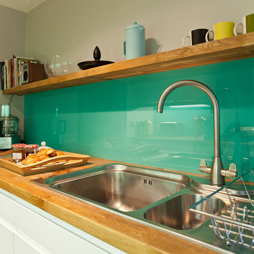 Kitchen remodelling in South Bristol モダンな キッチン の Dittrich Hudson Vasetti Architects モダン